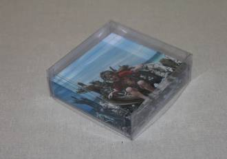 PVC clear box with lid