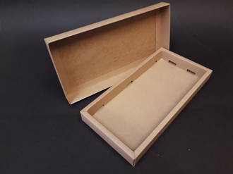 Card base and lid