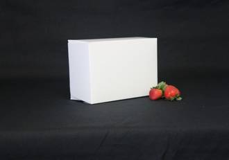 Oblong cake box