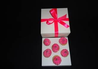 "6 - Mini Cupcake White Box 40mm Mini Insert - 6 x 6 x 3"""