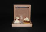 4 - Cupcake Eco Window Box 60mm Standard Insert - 7 x 7 x 4""