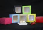 Special occasion 2 mini cupcake box + insert - printed stock colours