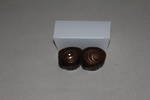 2 Piece Angle Chocolate White Box