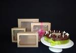 Eco cake box with window