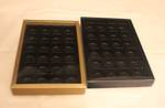 24 Piece Chocolate Box Double Walled Card Base & PVC Lid +Insert