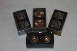 2 Piece Chocolate Box Card Base & PVC Lid + Insert